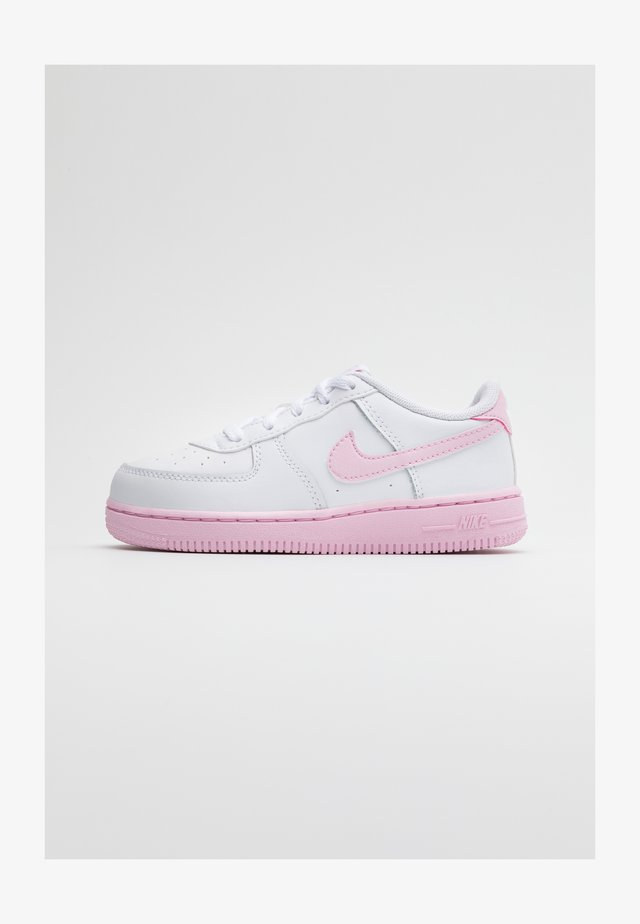 AIR FORCE 1 BRICK - Sneakers - white/pink