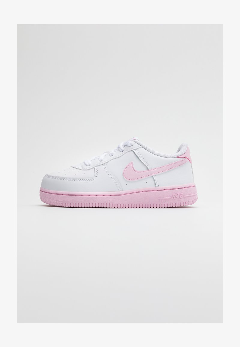 Nike Sportswear - AIR FORCE 1 BRICK - Trainers - white/pink