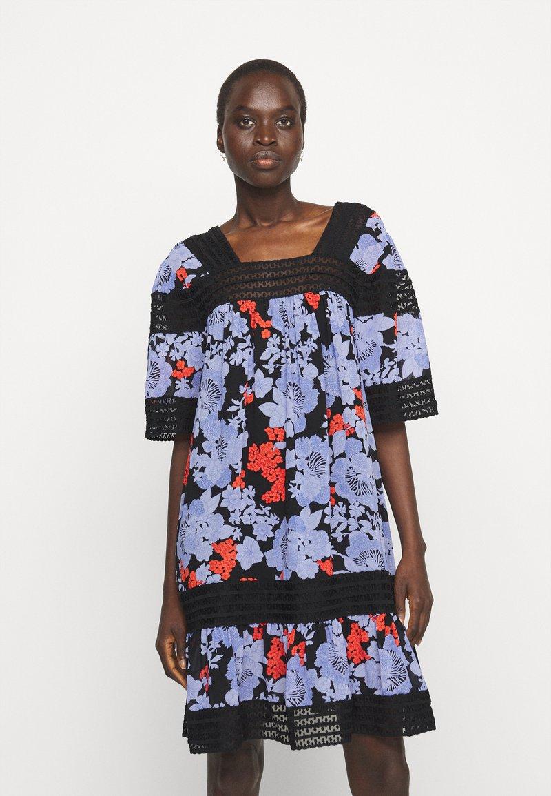 Hofmann Copenhagen - ABELLA PRINT - Robe d'été - black