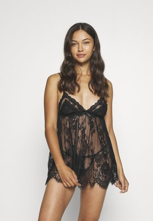 BABYDOLL - Pyjama set - black