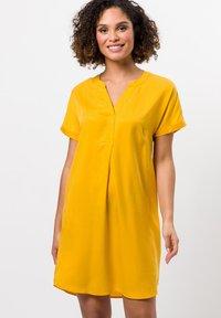 zero - Day dress - yellow curry - 1