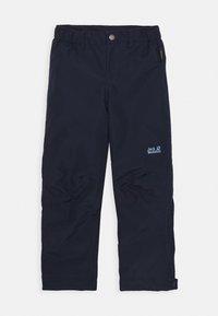 Jack Wolfskin - SNOWY DAYS PANTS KIDS - Outdoorové kalhoty - midnight blue - 0