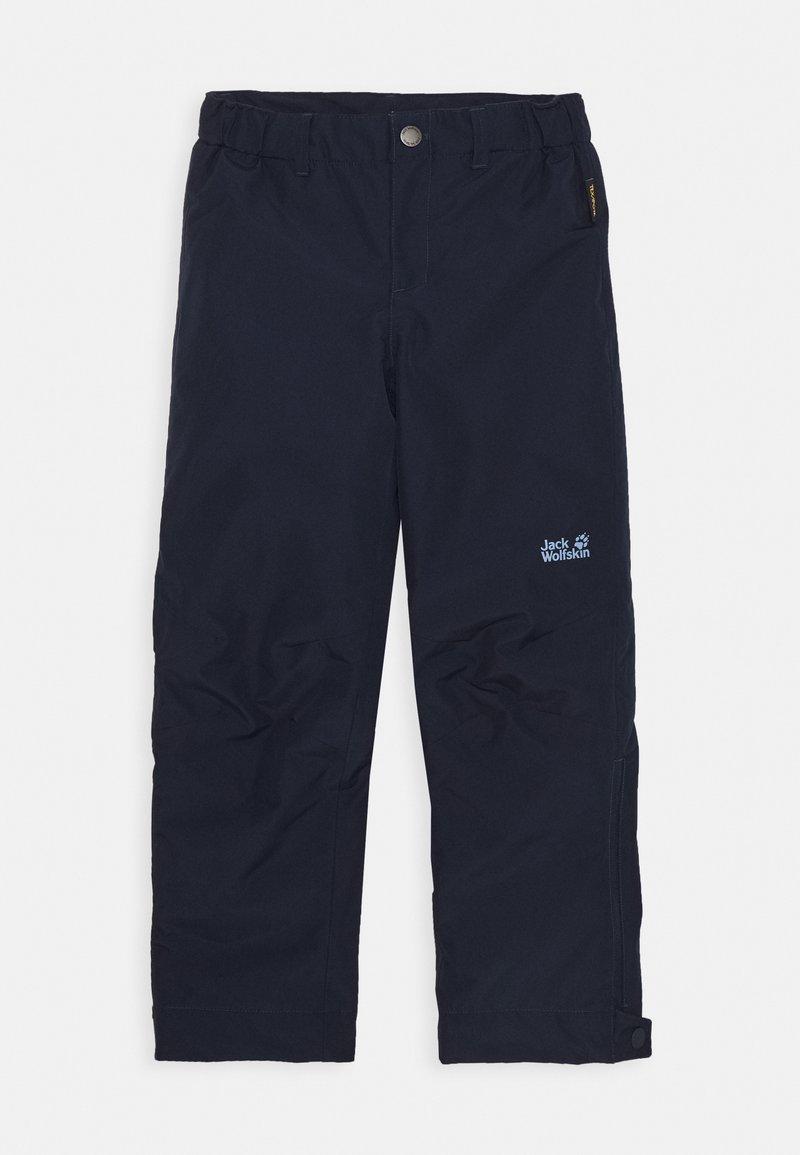 Jack Wolfskin - SNOWY DAYS PANTS KIDS - Outdoorové kalhoty - midnight blue