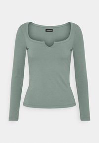 Even&Odd - Langærmede T-shirts - green - 3