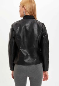 DeFacto - Faux leather jacket - black - 2