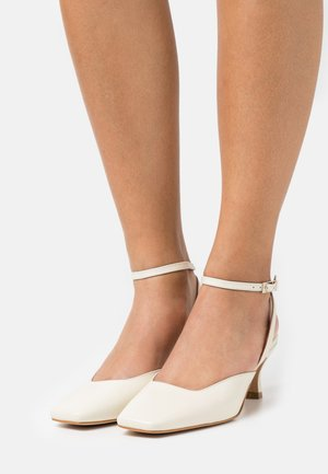 ANKLE STRAP - Tacones - sol/panna
