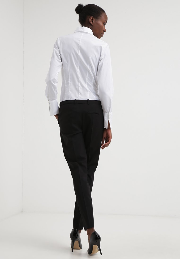 Seidensticker Komfortable Slim - Skjorte - white