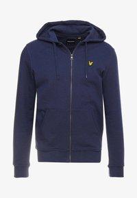 Lyle & Scott - Zip-up sweatshirt - navy - 3