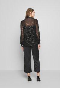 KARL LAGERFELD - Button-down blouse - black - 2
