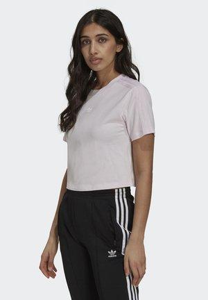 TENNIS LUXE CROPPED ORIGINALS CROP - Print T-shirt - pearl amethyst