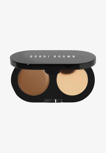CREAMY CONCEALER KIT - Makeup set - chestnut