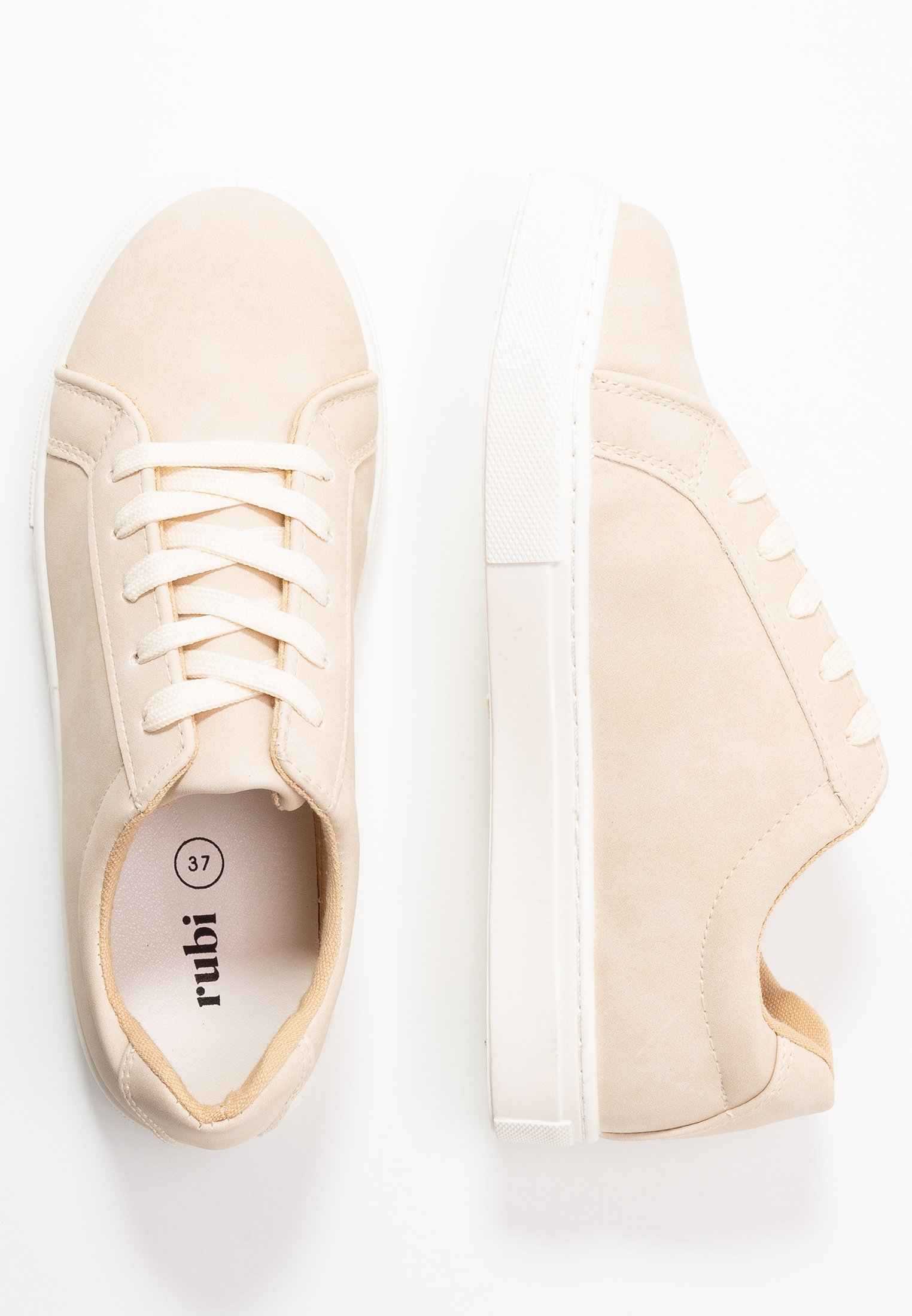 Rubi Shoes by Cotton On LISA LACE UP - Joggesko - stone