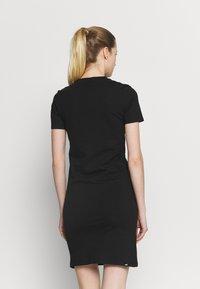 Puma - SLIM TEE DRESS - Vestido informal - black - 2