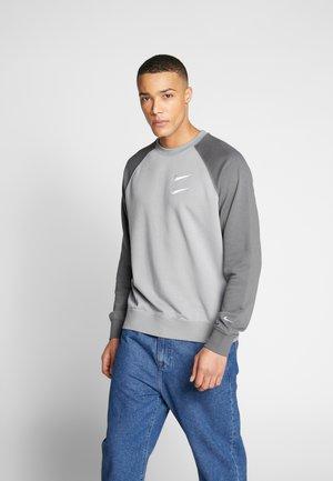 Sweatshirt - particle grey/white