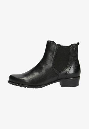 Korte laarzen - black nappa