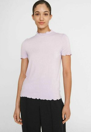 Basic T-shirt - orchid bloom