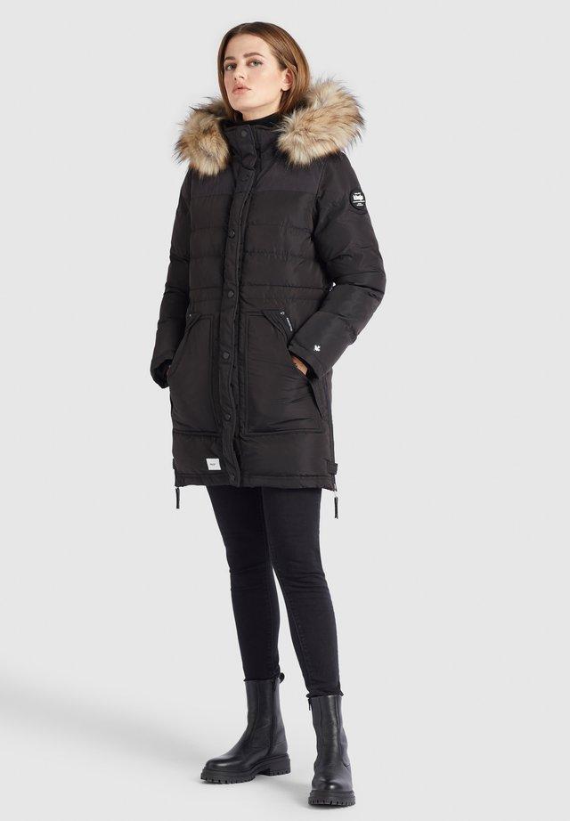 MELINDRA2 - Winterjas - schwarz