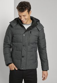 TOM TAILOR - Winterjas - mid grey structure - 0