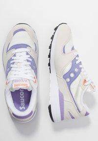 Saucony - AZURA - Trainers - white/lilac - 3