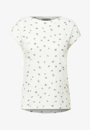 MIT MINIMAL PRINT - Print T-shirt - weiß