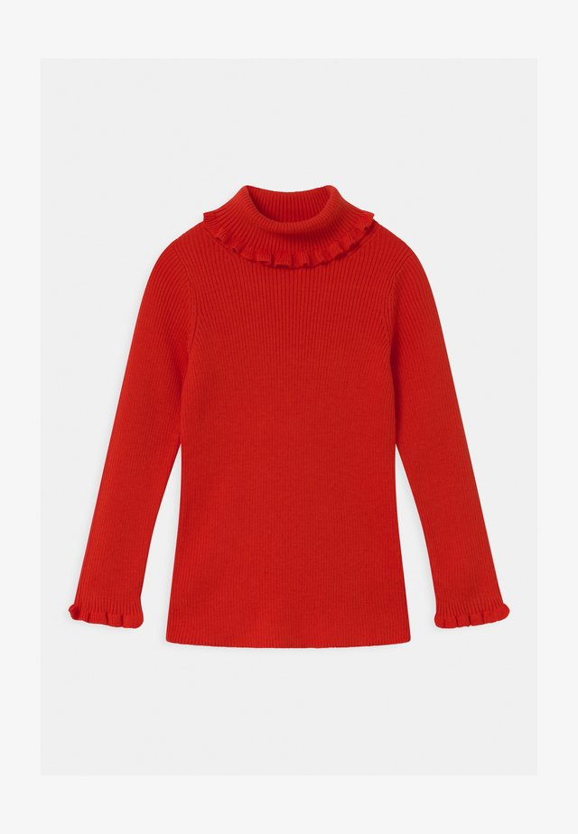 Long sleeved top - red bright