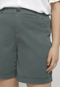 MY TRUE ME TOM TAILOR - Shorts - washed jasper green - 3