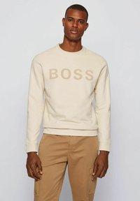BOSS - WEEFAST - Sweatshirt - open white - 0