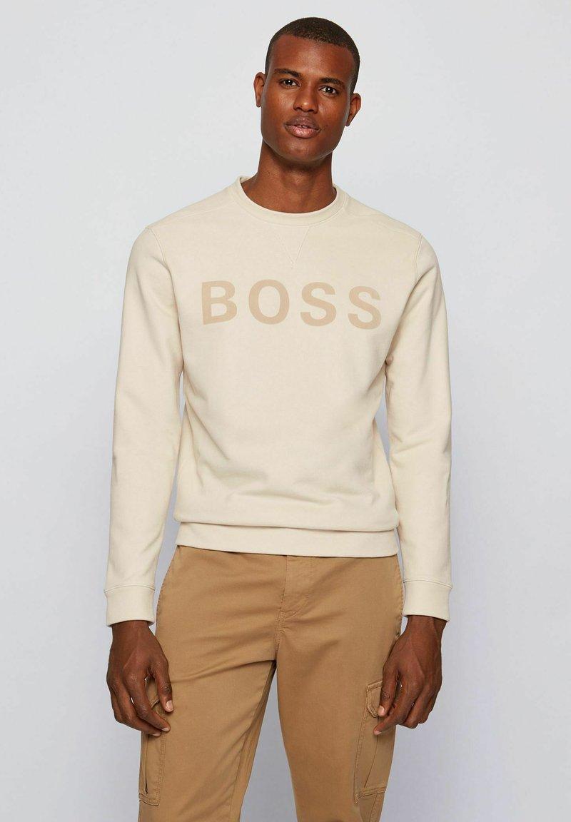 BOSS - WEEFAST - Sweatshirt - open white