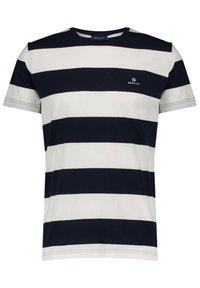 GANT - BARSTRIPE - T-shirt med print - offwhite (20) - 0