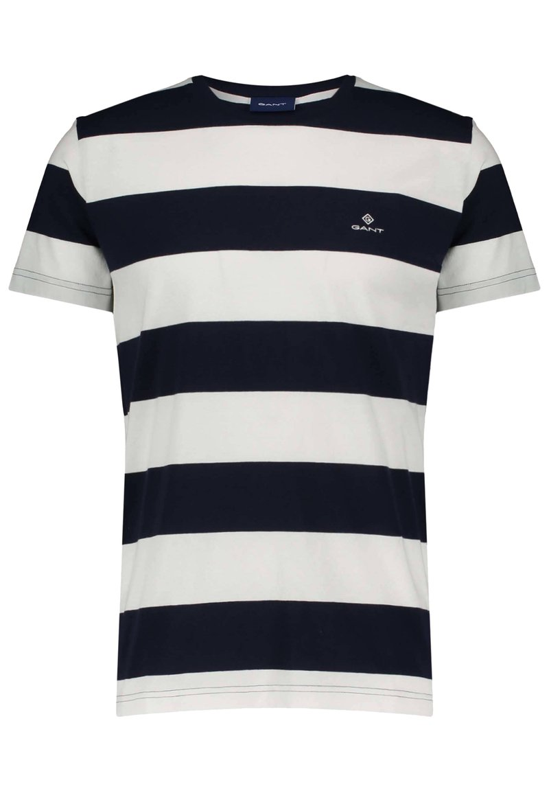 GANT - BARSTRIPE - T-shirt med print - offwhite (20)