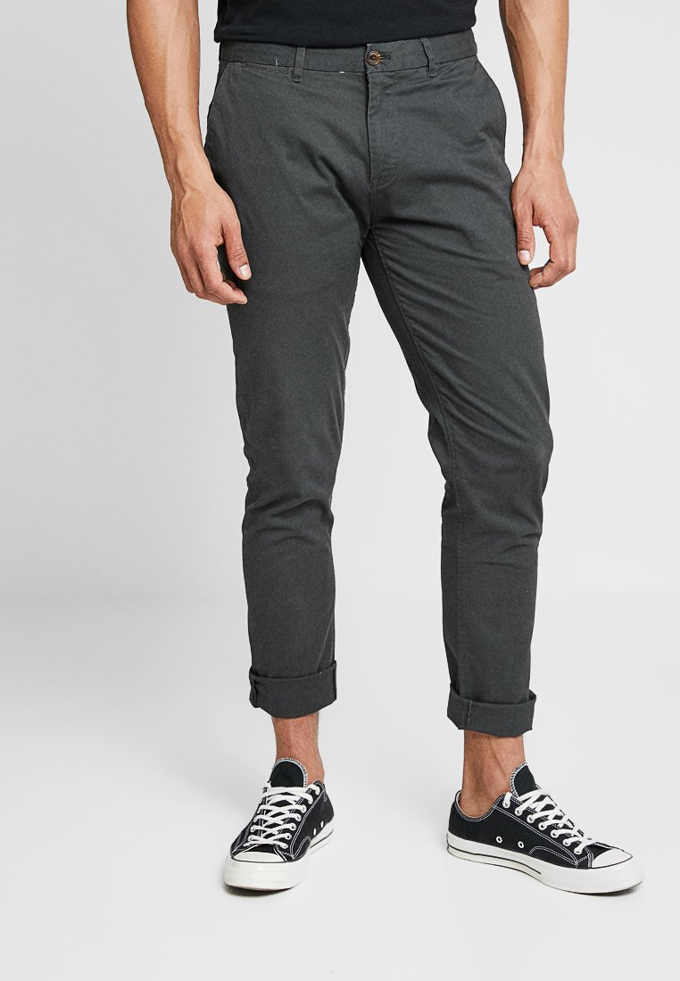 Scotch & Soda - STUART CLASSIC SLIM FIT - Chino - charcoal