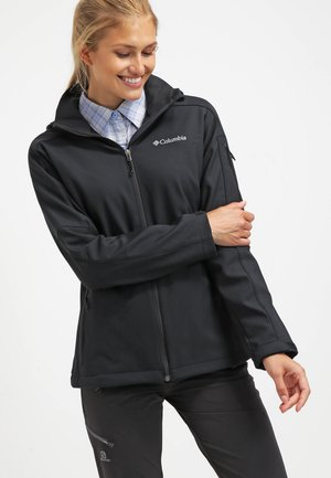 CASCADE RIDGE - Softshell jakker - black