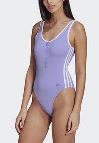 adidas Originals - ADICOLOR CLASSICS PRIMEBLUE SWIMSUIT - Swimsuit - purple - 0