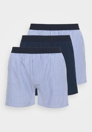 LOOSE  3 PACK - Boxershorts - light blue/dark blue