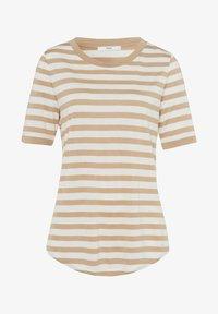BRAX - STYLE COLETTE - Print T-shirt - sand - 5