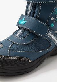 LICO - STERN V BLINKY - Winter boots - marine/pink/türkis - 5