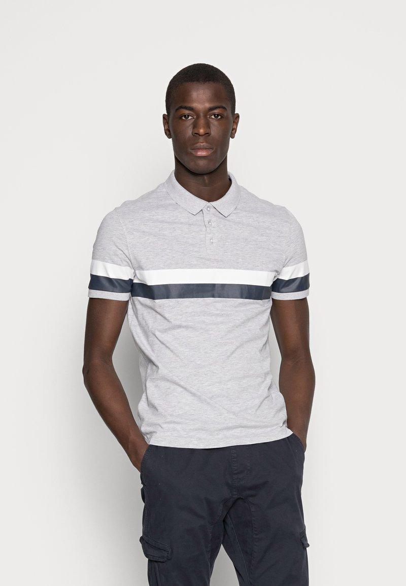 Pier One - Poloshirts - mottled light grey