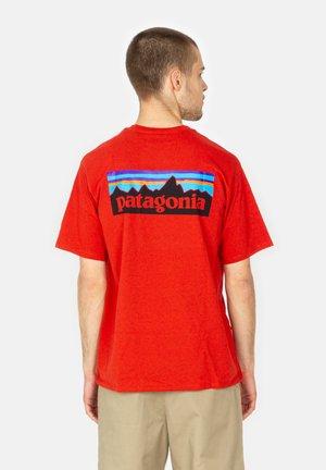 Print T-shirt - hot ember