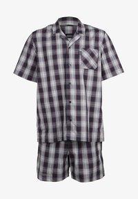 Jockey - PYJAMA 1/2 WOVEN - Pyjama set - red/white - 8