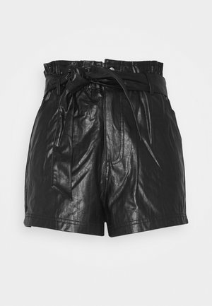 PAPERBAG SHORT - Shorts - black