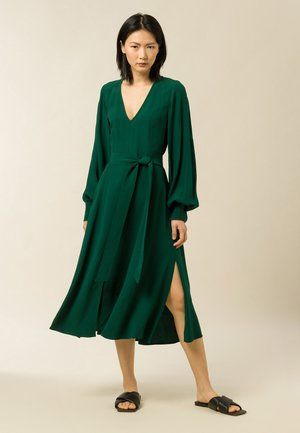 DIONNE - Day dress - bayberry green