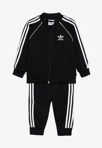adidas Originals - SUPERSTAR SET - veste en sweat zippée - black/white - 4