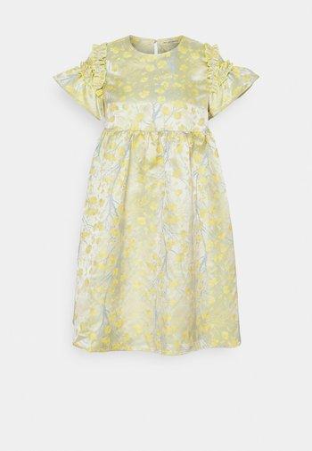 KISA DRESS - Cocktailjurk - lemon