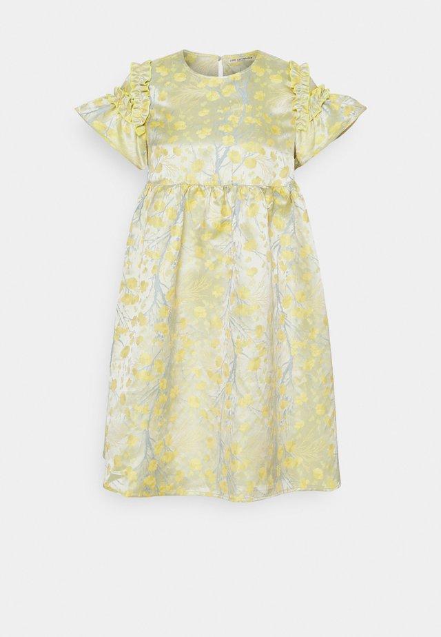 KISA DRESS - Cocktailkjoler / festkjoler - lemon