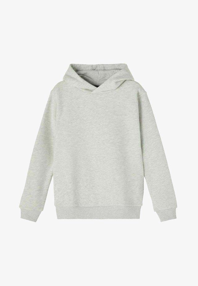 Luvtröja - light grey melange