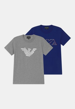 2 PACK - T-shirt z nadrukiem - blue