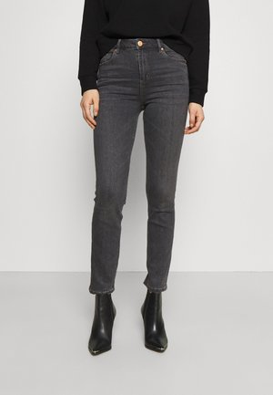 SLIM - Slim fit jeans - grey denim