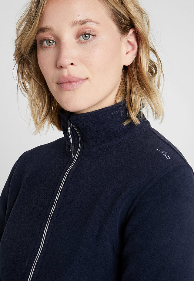 WOMAN JACKET - Fleece jacket - blue ghiaccio