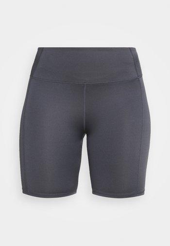 ELITE BIKE SHORT - Medias - pewter grey