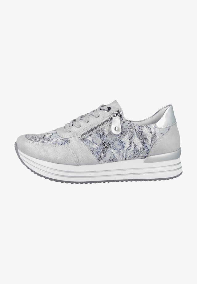 Sneakers laag - ice-blue white-argento